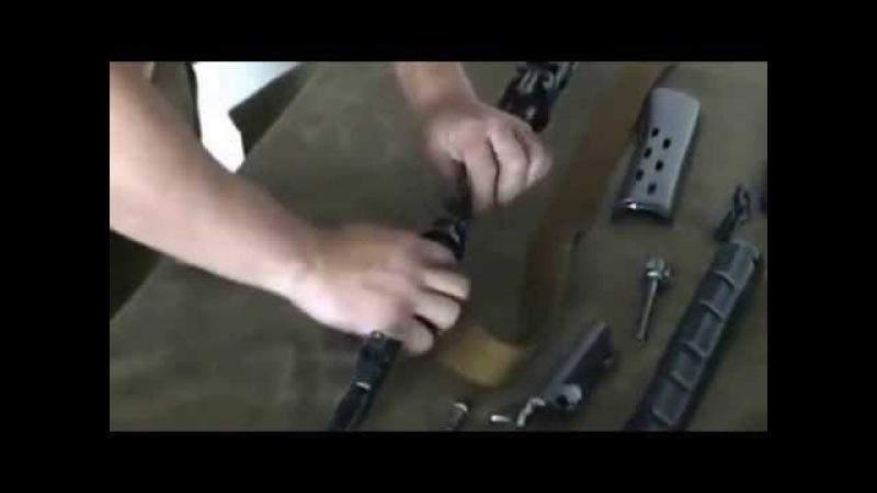 Разборка и сборка снайперской винтовки Драгунова (СВД)