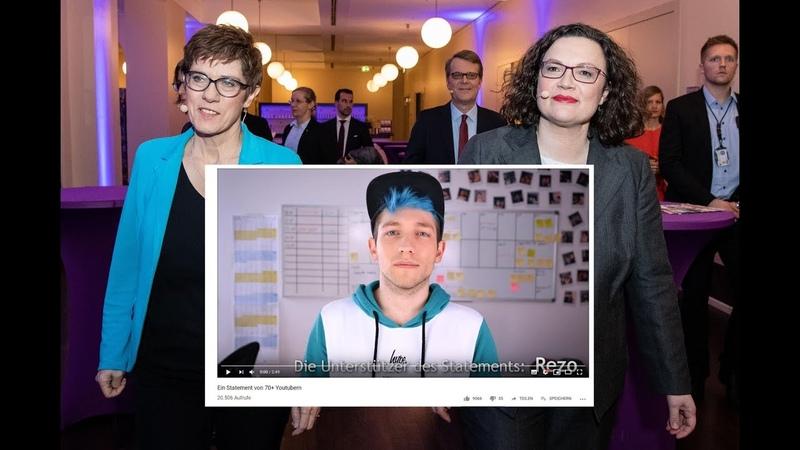 Das Rezo Soros Netzwerk öffentlich aufgedeckt = Gelbwesten Live aus Berlin 1. Juni 2019