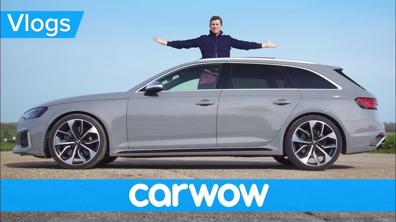 Audi RS4 - see which options YOU chose for my new daily driver   Mat Vlogs