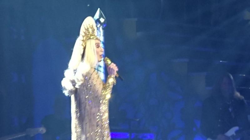 Шоу-концерт Cher Classic Cher в MGM-Park в Лас-Вегасе, май 2018, 7