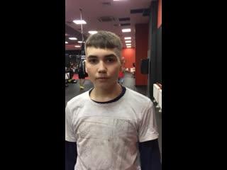 Захаров Андрей боец Orel Professional Kick-boxing League