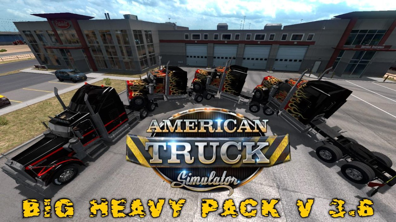 BIG HEAVY PACK V3.6 FOR ATS 1.30