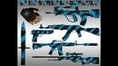 Пак Синяя струя Стандартные руки и анимация