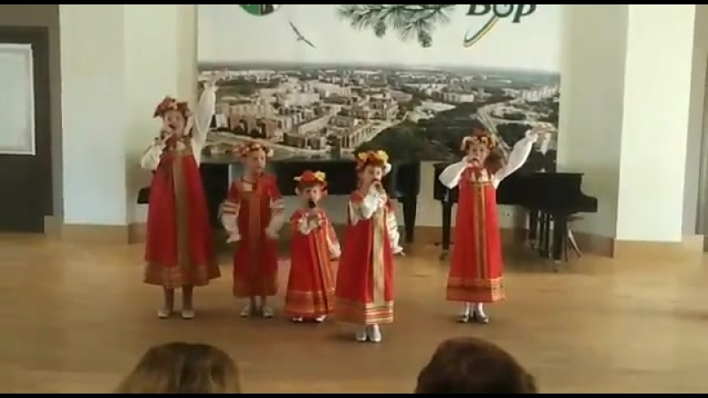 Башмачки (Т.Бурцева) - Милена (7 лет)