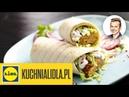 Пряный мясной свинина или баранина кебаб с нутом и йогуртовым соусом Najlepszy pikantny kebab z sosem jogurtowym Karol Okrasa Przepisy Kuchni Lidla