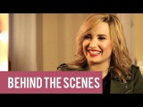 Demi Lovato Talks Cleavage (and tips on being a pop star)