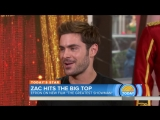 Zac Efron Talks About New Movie The Greatest Showman And Runs Into Ed Sheeran! - TODAY