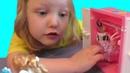 Интересный набор мебели для кукол. Обзор игрушек. Распаковка игрушек. Unpacking toys. Video for kids