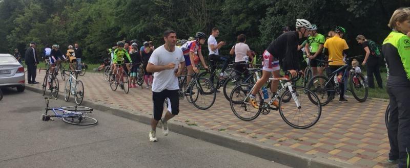 Шоссейная велогонка прошла в Ставрополе