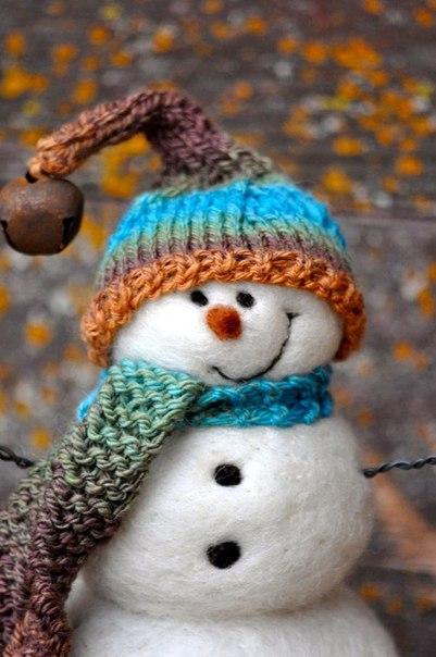 Снеговички. Новогоднее настроение! 😊