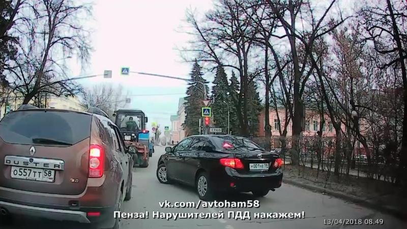 Водятел №31. 13.04.2018. 0849 Перекресток ул.Володарского - ул.К.Маркса