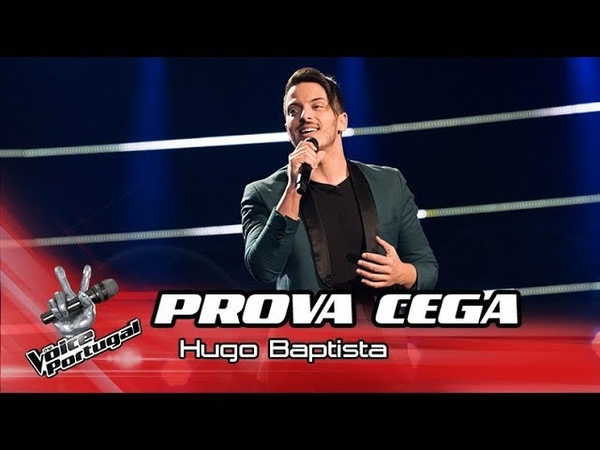 Hugo Baptista - I Believe I can Fly | Prova Cega | The Voice Portugal
