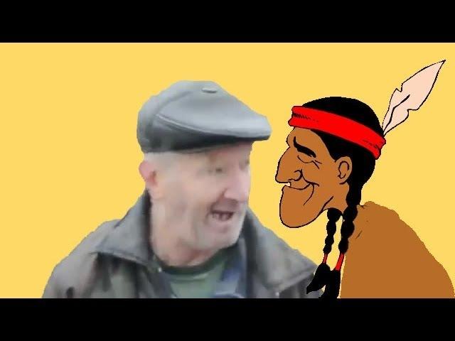 Про индейцев - Анекдот от деда Бом Бом 9