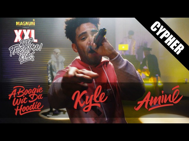 Kyle, A Boogie Wit Da Hoodie and Aminé's 2017 XXL Freshman Cypher