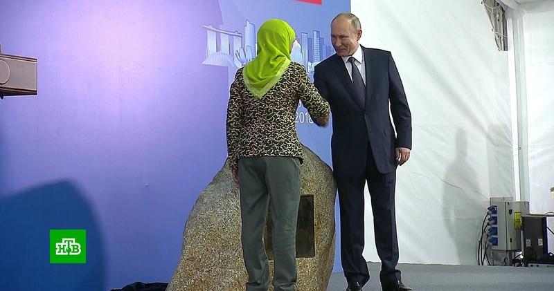 Путин описал отношения с Сингапуром пословицей про воду и мед