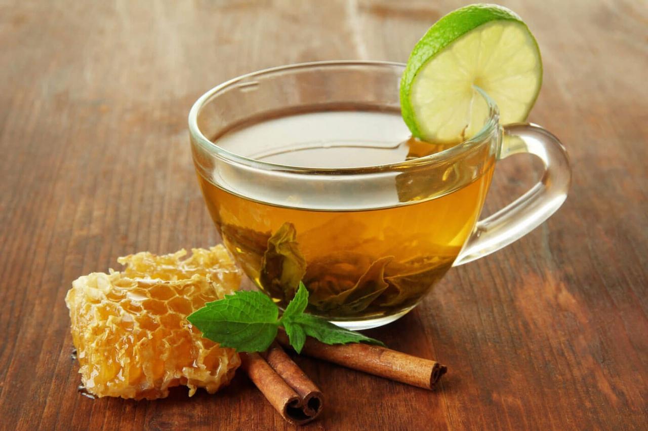 Открытки с чаем и медом, сделать открытку