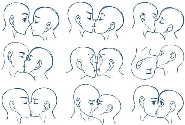 как рисовать аниме голову: