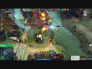 Secret vs Na`Vi, Game 2