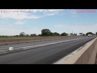 9.66 @ 145 mph jeep trackhawk world record 1_4 mile run