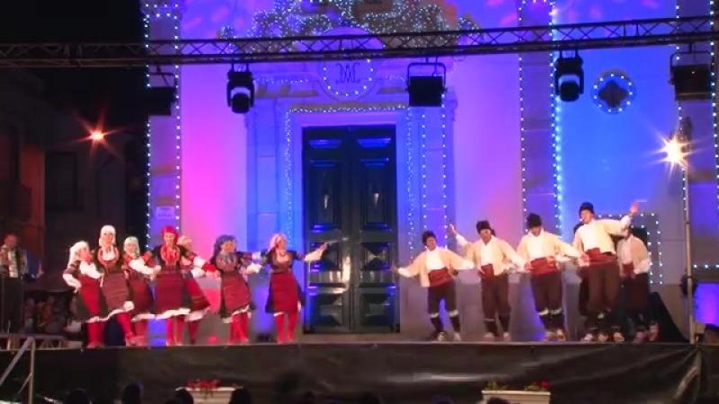 Serbian folk dance_ Krajište (Сербия)