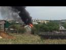 Лямбирь поселок Чекаевский горит дом Саранск Мордовия Ширингуши Парца Атемар Семилей