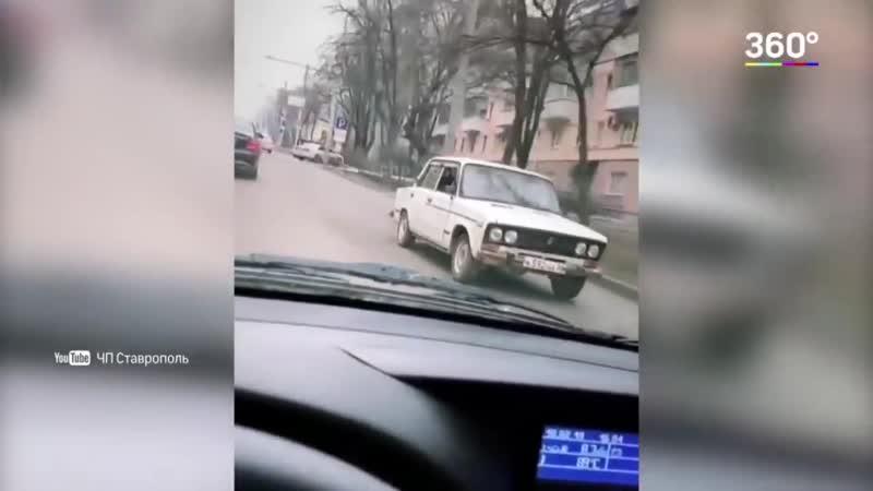 """Жигули _""""задом наперёд_"""" - водитель задержан, жигули конфискованы"""