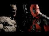 Batman VS Deadpool (Русская озвучка от BadCatStudio)