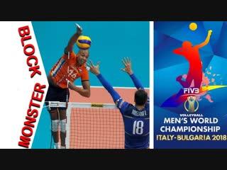 MONSTER Block 1 on 1 Mens Volleyball World Championship 2018