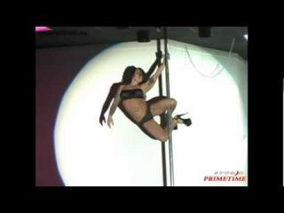 14 - Nicki Shaw - siła i unikalny styl - taniec na rurze - pole dance