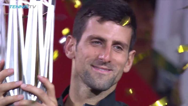 Novak Djokovic reigns in Shanghai   Shanghai Final Highlights 2018