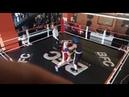 Открытый ринг, бокс, клуб BFC. Я синенький.
