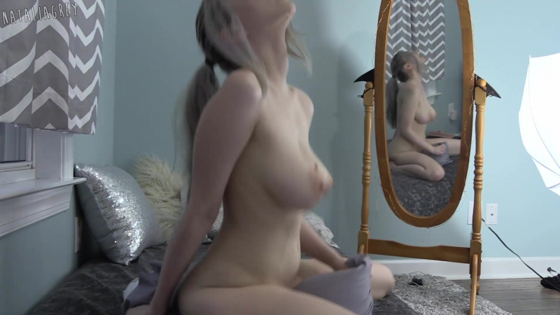 Natalia Grey Pillow Talk (1080p) Amateur, Teen, Curvy, Solo, Masturbation, Teasing,