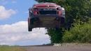 WRC Germany Tests Massive jumps Max attack Mads Østberg Craig Breen