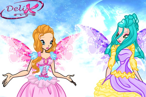 Оденьте волшебницу Винкс - Музу (Winx Musa Dress-Up)