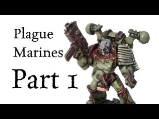How to paint Plague Marines Chaos Space Marines pt.1