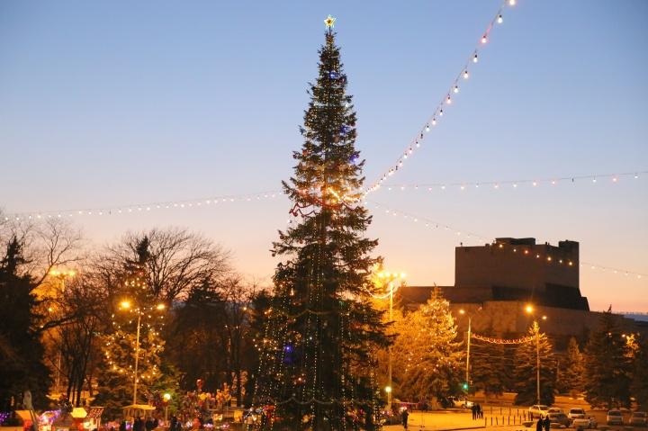На главной площади КЧР появится искусственная новогодняя ель