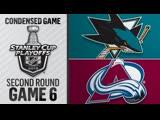 San Jose Sharks vs Colorado Avalanche R2, Gm6 may 6, 2019 HIGHLIGHTS HD
