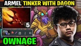 Armel Tinker Dota 2 - Dagon 5 Power Totally Ownage!