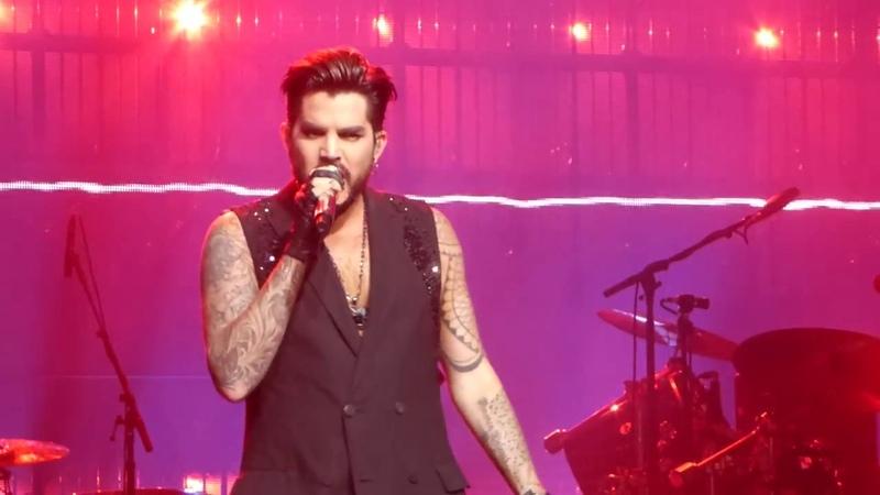 Adam Lambert Q ueen - Crown Jewels - ABTD - Las Vegas - 9/19/18