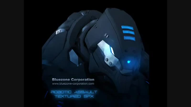Transformers Sounds, Robot SFX, Video Game Sample Library - Robotic Assault Text
