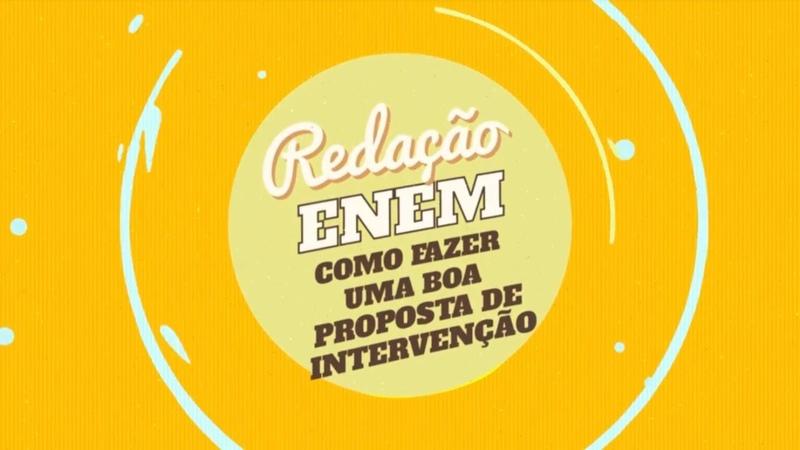 Redação no Enem Proposta de Intervenção - Brasil Escola