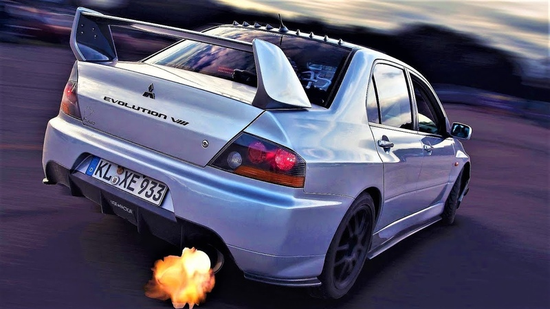 Mitsubishi Lancer Evo Sound Compilation Best Ever