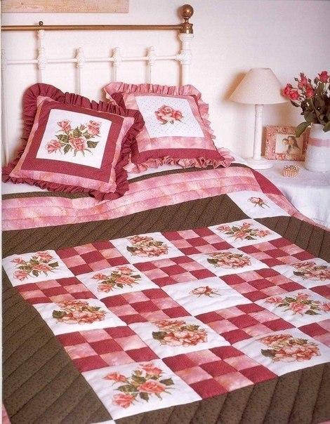 Для вас схемы вышивки подушек