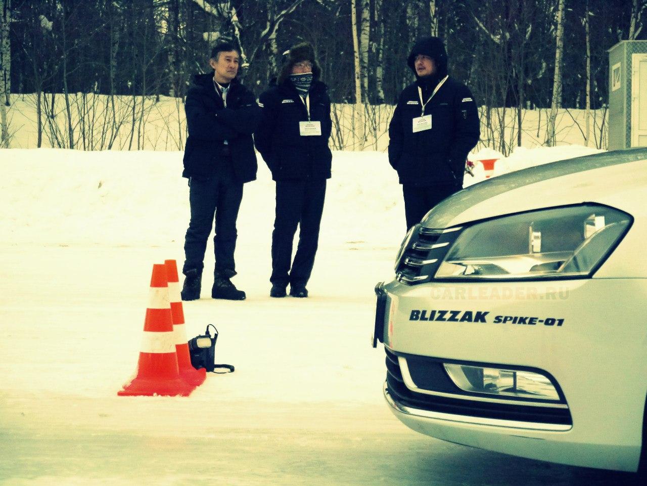 Шины Spyke-01 на льду