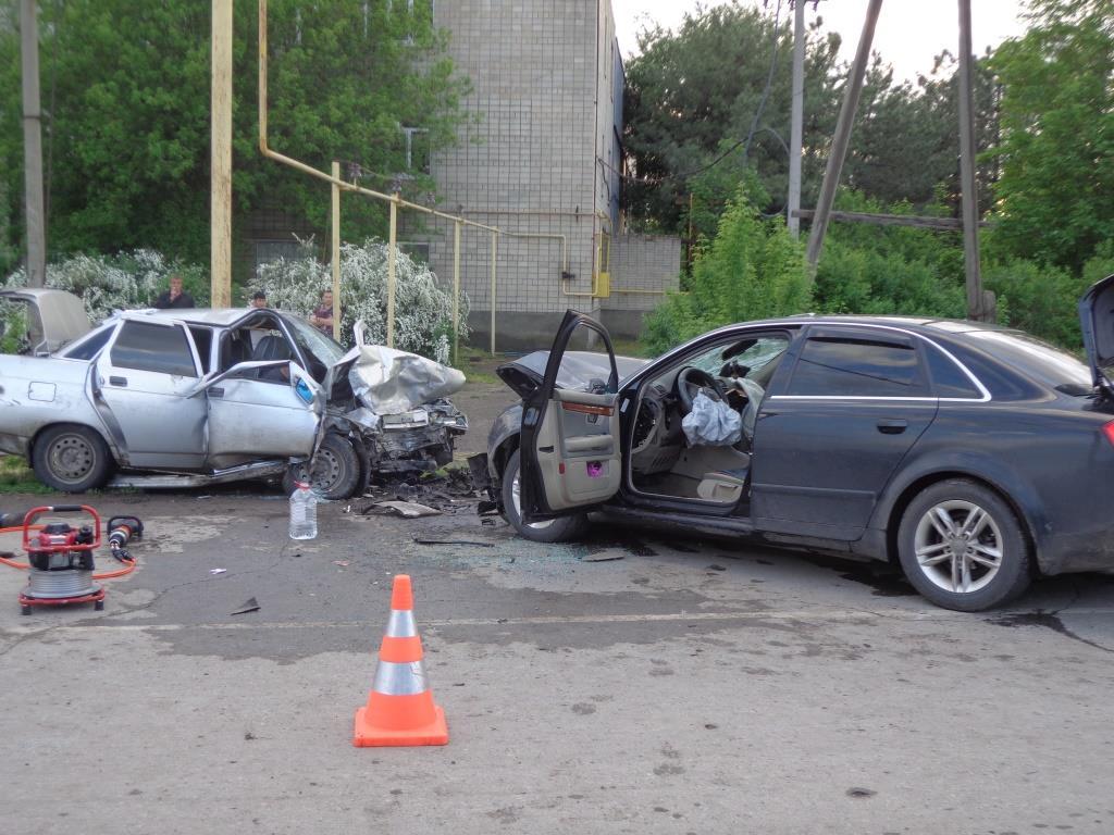 ДТП на трассе Азов – Самарское