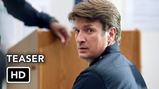 The Rookie (ABC) Teaser Promo HD - Nathan Fillion series