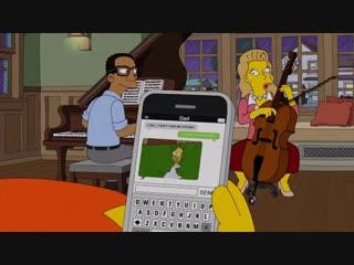 Гомер использует мем с Гомером в