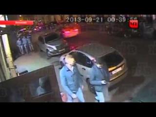 Россия Петербург Конфликт Драка и Стрельба на Улице 2013