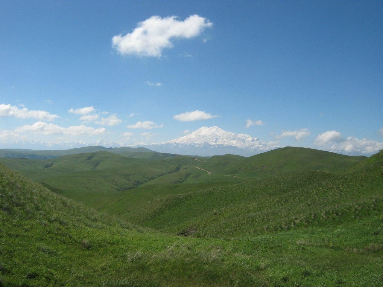 Путь от перевала Гумбаши до плато Бечасын