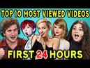 COLLEGE KIDS REACT TO TOP 10 MOST VIEWED YOUTUBE VIDEOS OF ALL TIME First 24 Hours